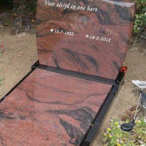 Romantica met Zwart graniet